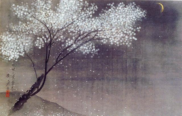 pittura giapponese di shoko okumura hanami attraverso