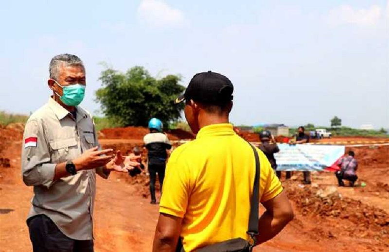ESDM Jabar & Satpol PP Jabar Hentikan 5 Tambang ilegal di Purwakarta