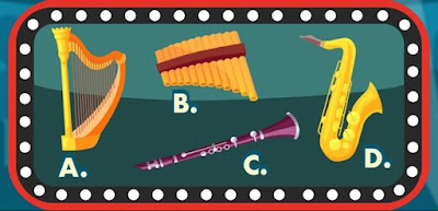 Q 11. Can you identify all the instruments that belong to the woodwind group?