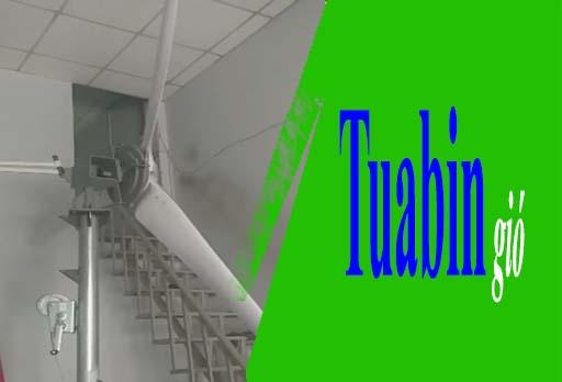 Những chiếc máy phát điện gió tự chế lần lượt được ra đời