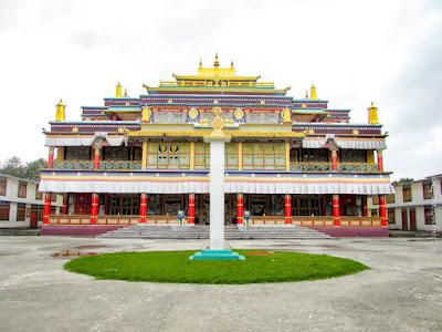 Ralong monastery Ravangla sikkim
