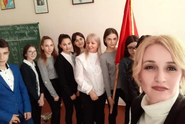 Two teachers from Albania start teaching Albanian language in Ukraine