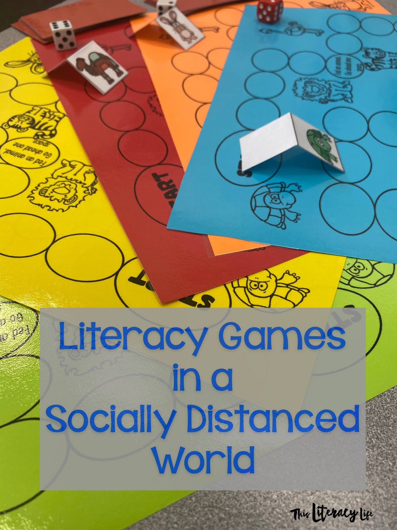 Literacy Games in a Socially Distanced World