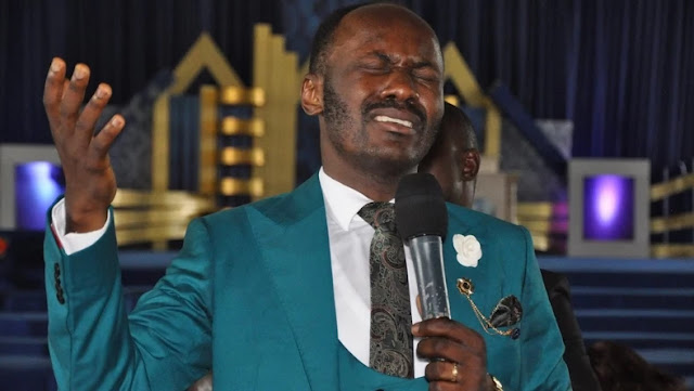 'I bought my 3rd jet during COVID-19 pandemic', Apostle Johnson Suleman says he prayed for the pandemic not to end(Watch video)