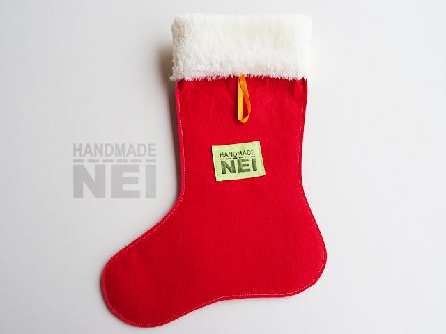 """Handmade Nel: Коледен чорап с име """"Ева"""""""