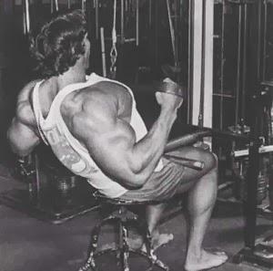 تمارين عضلات ظهر ارنولد شوارزنيجر