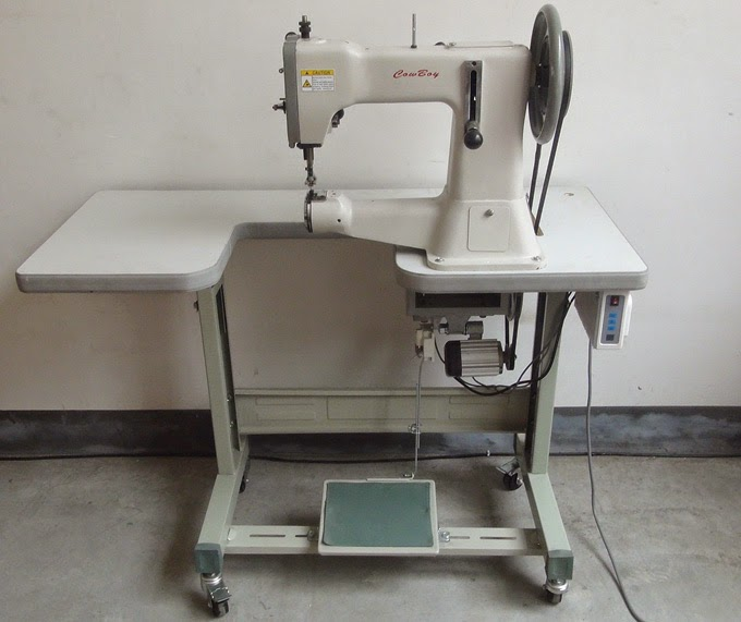 Heavy duty industrial sewing machines: Special parts for