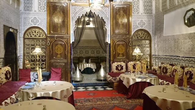 Marrakesch - Restaurant Dar Essalam