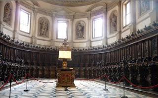 Coro de la Iglesia de San Giorgio Maggiore.