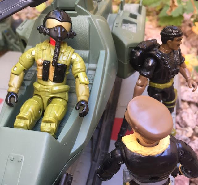 1993 Ace, Ghost Striker X-16, 2006 Overlord, Convention Exclusive, Monster Blaster APC, Mega Marines, 1994 Stalker, General Flagg, Gung Ho, Razor Blade