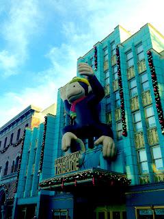 Universal Orlando Macy's Christmas decorations