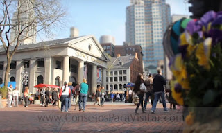 Mercado Quincy en Boston