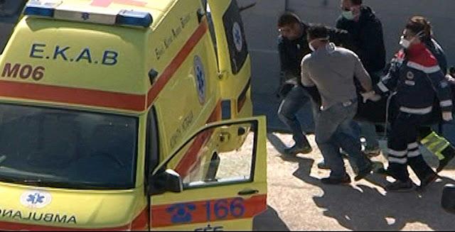 Τώρα: Σοβαρά τραυματισμένος μεταφέρεται 30χρονος από την Ηγουμενίτσα στο νοσοκομείο Πρέβεζας