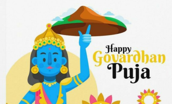 happy govardhan puja wishes in english