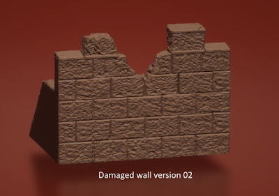 Damaged Wall Sections picture 2
