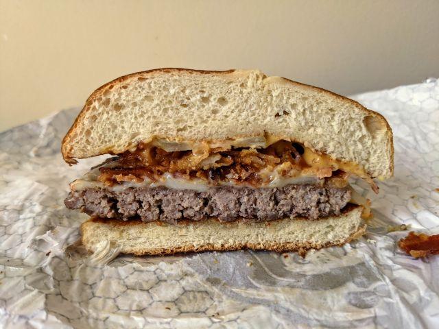 Review Wendy S Pretzel Bacon Pub Cheeseburger Brand Eating