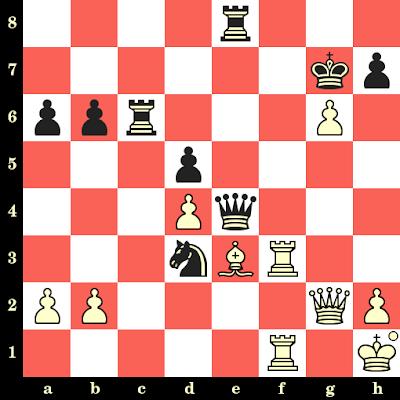 Les Blancs jouent et matent en 4 coups - Friedrich Saemisch vs Rudolf Spielmann, Baden-Baden, 1925