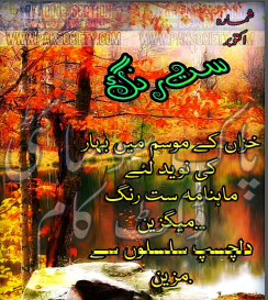Saat Rang Magazine October 2016