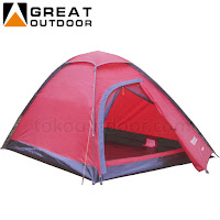 great outdoor java 4/5,sewa alat adventure jogja,tenda camping murah