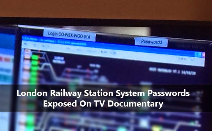 London Railway System Passwords Exposed During TV Documentary