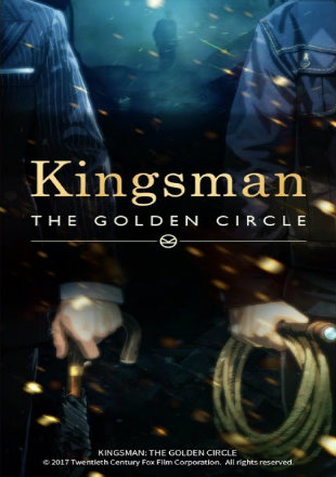 Kingsman The Golden Circle 2017 Pre DVDRip 700MB Hindi Dubbed x264 Watch Online Full Movie Download bolly4u