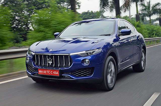 Maserati Levante S Blue wallpaper