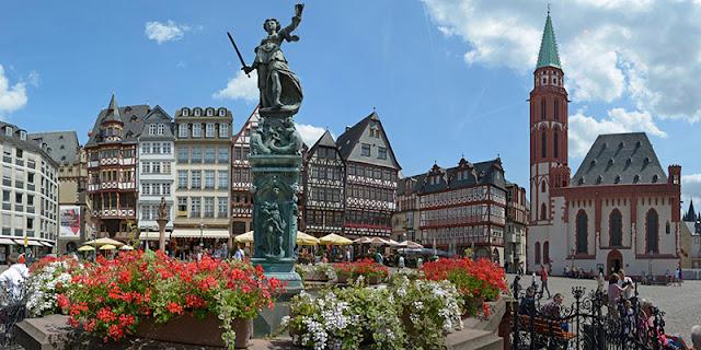 Remessas internacionais para Frankfurt