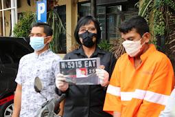 Satreskrim Polresta Malang Kota  Amankan Residivis Curanmor dalam Satu Jam