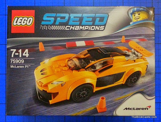 LEGO Speed Champions McLaren P1 set 75909 Review