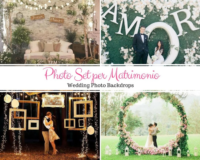 Photo Booth o Photo Set per il matrimonio