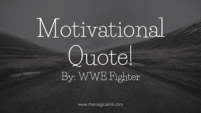 motivational quote l WWE
