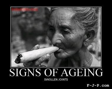 Woman smoking a giant marijuana cannabis joint