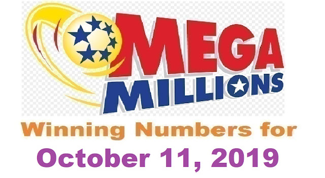 Mega Millions Winning Numbers for Friday, October 11, 2019