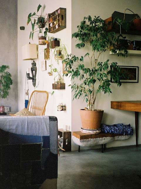 Zauberhaft kreative Einrichtung in Los Angeles - so macht Wohnen und Einrichten, Handarbeiten und Hobby jeden Tag Spaß
