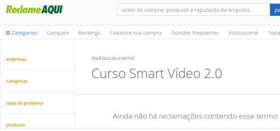 Reclame Aqui Smart Vídeo
