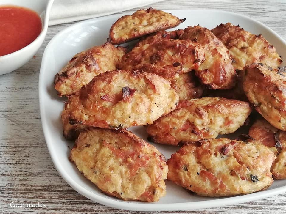 croquetas de coliflor al horno