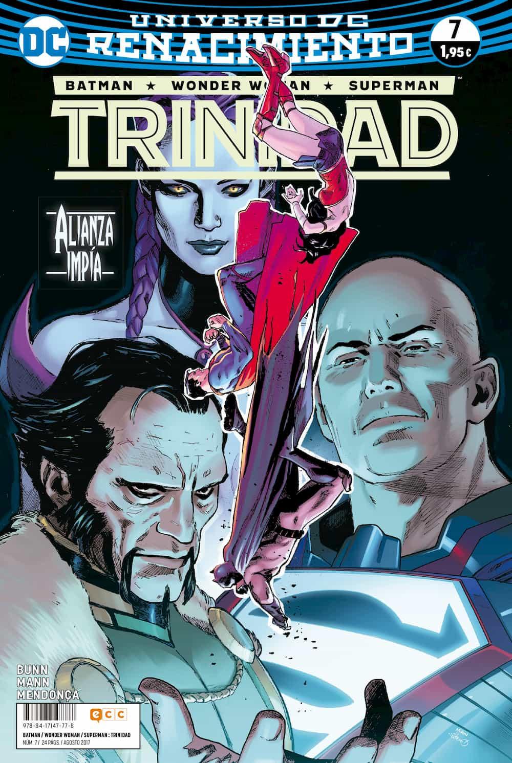 BATMAN/WONDER WOMAN/SUPERMAN: TRINIDAD NÚM. 07 (RENACIMIENTO)