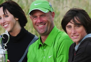 Lisa And Stewart Cink With Their Two Sons