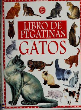 LIBRO PEGATINAS DE GATOS