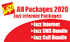 Jazz Internet Packages List 2020 - All Jazz Packages List 2020