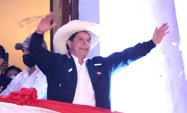 Asunción de mando de Pedro Castillo