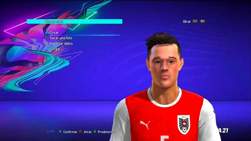 Marco Friedl Face For PES 2013