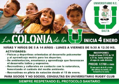 Universitario lanzó su primera colonia de vacaciones
