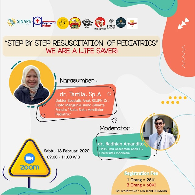 """SINAPS WORKSHOP-""""Step by step resuscitation of pediatrics"""" —we are a life saver!"""