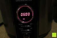 6 Stunden garen: Andrew James 3,5L Sizzle to Simmer 2 in 1 Digitaler Schongarer mit Entnehmbarer Aluminiumbratpfanne – Zum Braten, scharf Anbraten, Sautieren und Dämpfen – 2 Jahre Garantie