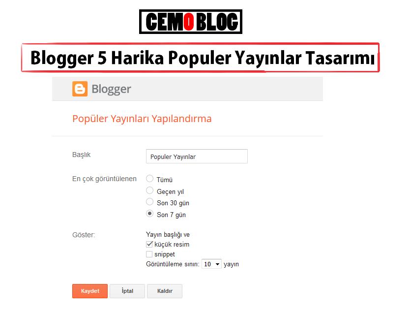 Blogge 5 Harika Populer Yayınlar Tasarımı