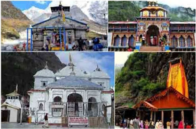 Yamanotri, Gangotri, Rudranath, Badrinath