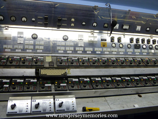 The Control Panel that runs the trains