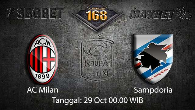 Prediksi Bola Jitu AC Milan vs Sampdoria 29 October 2018 ( Italian Serie A )