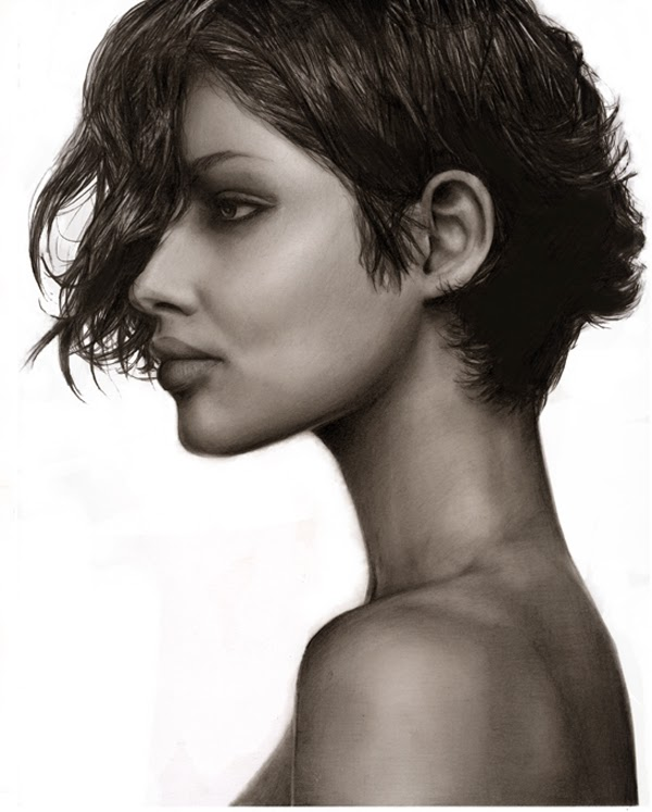 Realistic Pencil Drawings by Jessica